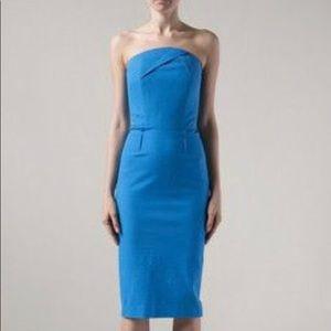 Roland Mouret Strapless Electra Dress